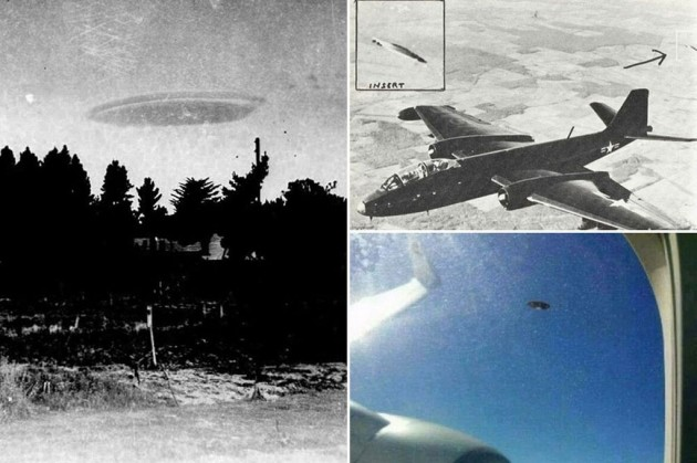 Unexplained UFO photos