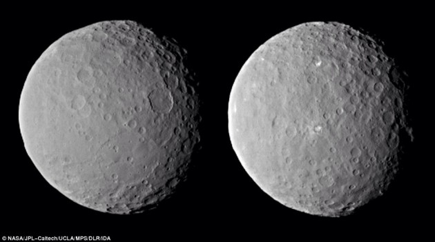 The dwarf Planet, Ceres