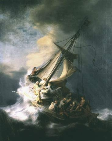 Rembrandt van Rijn's Storm of the Sea of Galilee