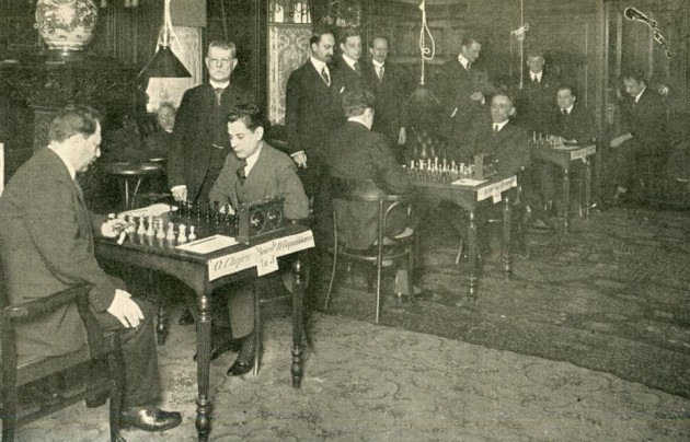 The Liverpool chess club