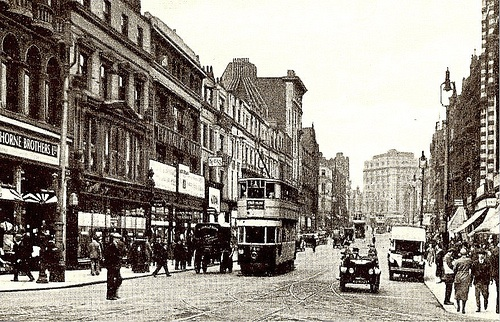 The Liverpool tram stop