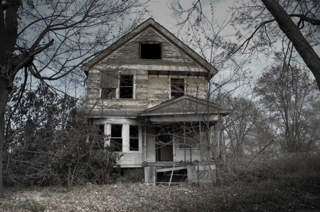 The haunted Sayer house, Kentukey