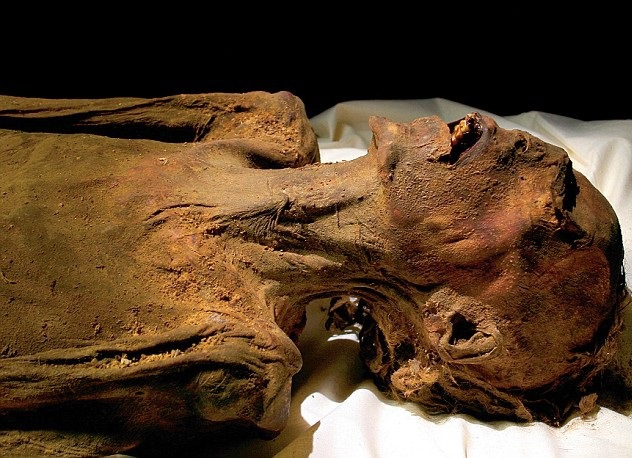 The ancient mystery of the screaming Mummy