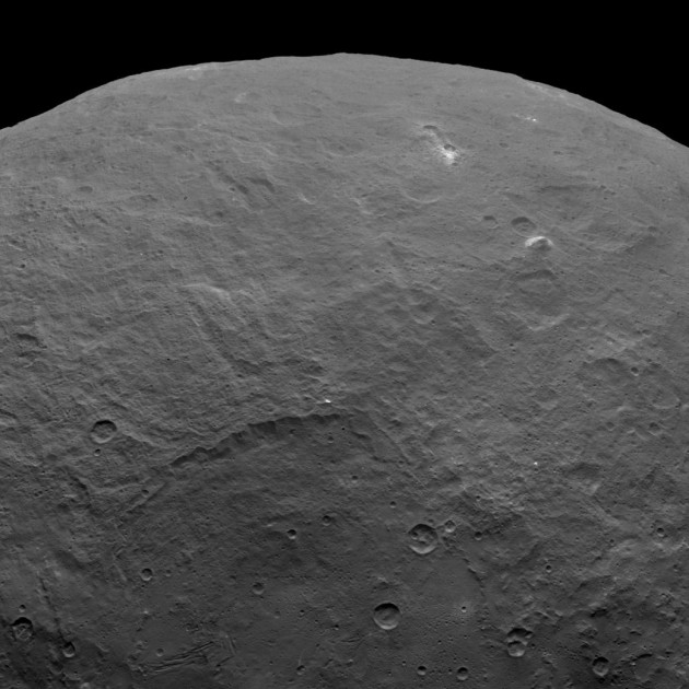 Pyramid on Ceres