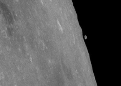 Apollo 11 Mystery – Did bit of 'Moon break off' or was it a UFO?