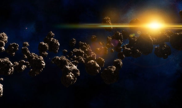 Asteroids in solar system could REALLY be 'alien spacecraft'
