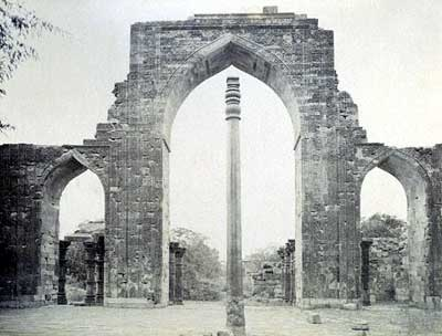 Strange mystery of the Iron Pillar Of Delhi