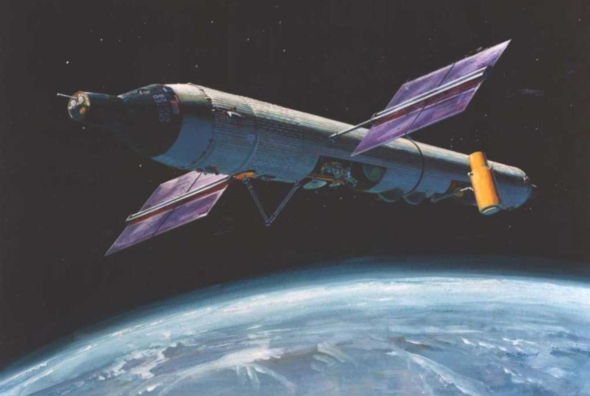 Did the US Military have a secret space station?