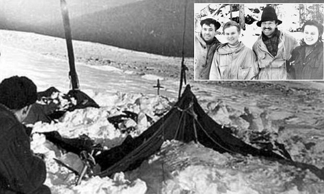 The tent discovered - Dyatlov Pass Mystery