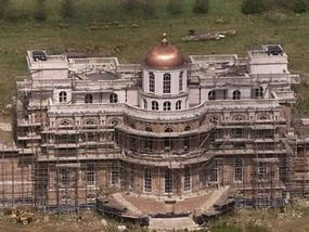 The mysterious Hamilton Palace, Sussex UK – the mansion under construction for over 30 years