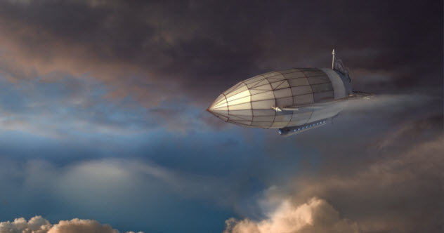 Bizzare mystery of the New Zealand Zeppelin!