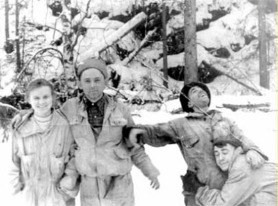 Lyudmila Dubinina, Yuri Krivonischenko, Nicolai Thibeaux-Brignolle, Rustem Slobodin