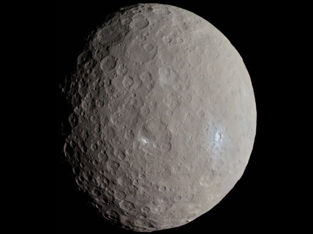 Changes in Mysterious Bright Spots on Dwarf Planet Ceres Puzzle Scientists
