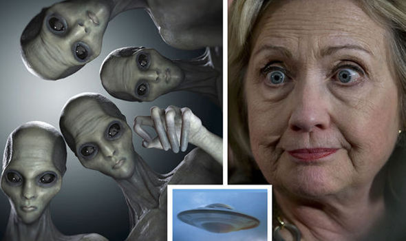 Cool interesting stuff : Clinton to reveal UFO evidence
