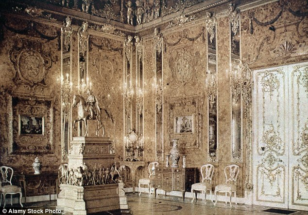 Has the $400million Amber Room stolen by the NAZI's been found?