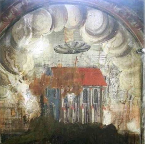 Strange 'UFO' Disc Is Found In 16th Century Painting