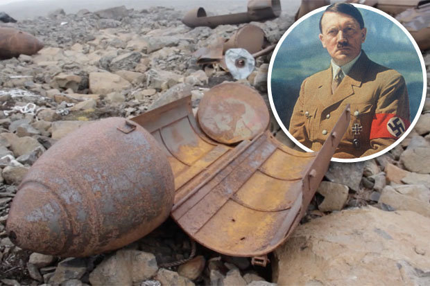 Hitlers secret Nazi base discovered in Arctic