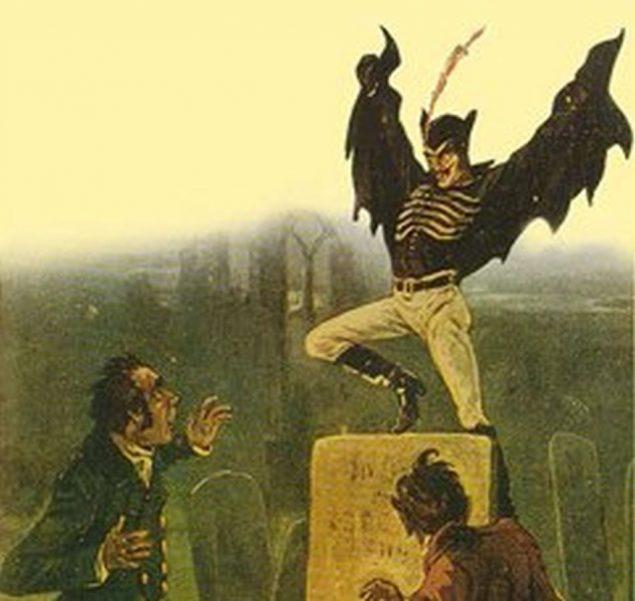 The Strange Legend of Spring Heeled Jack