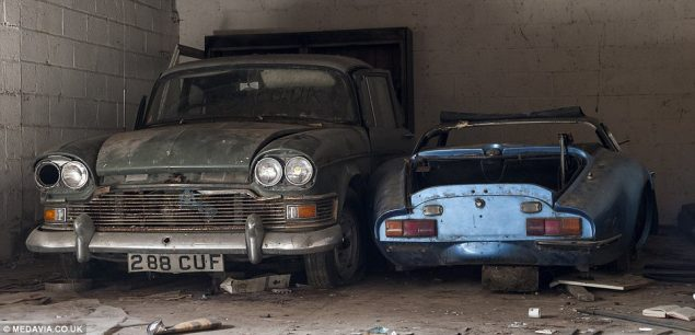 Old cars discovered