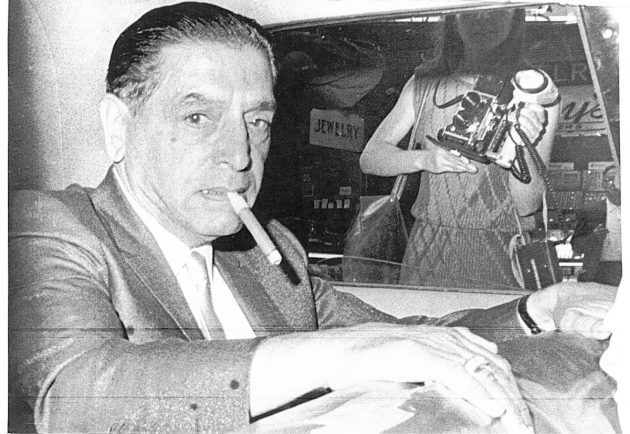 Raymond Loreda Salvatore Patriarca, Sr. was an Italian-American mobster from Providence, Rhode Island who became the longtime boss of the Patriarca crime family, whose control extended throughout New England for over three decades.  Cranston R.I.,12/4/80: Rhode Island state police arrested reputed New England organized crime boss Raymond L.S. Patriarca (SHOWN IN 1967 FILE PHOTO) on charge of being an accessory to murder. (UPI) Courant file photo