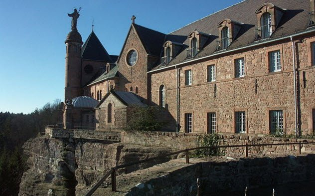 The mysterious vanishing books at The ancient Alsatian monastery of Mont Sainte-Odile