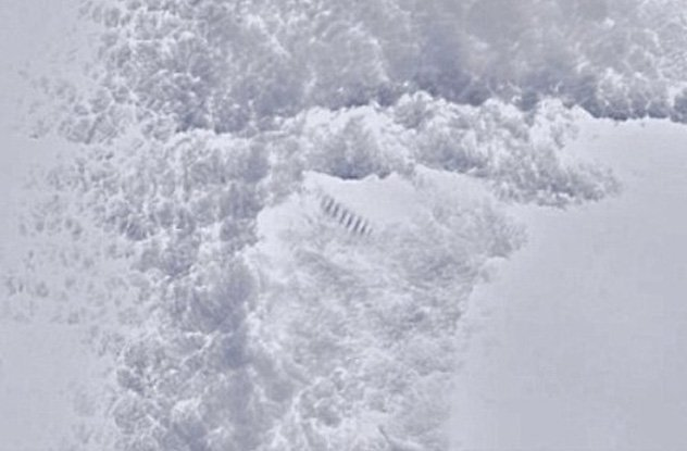 Strange unexplained staircase found in Antarctica