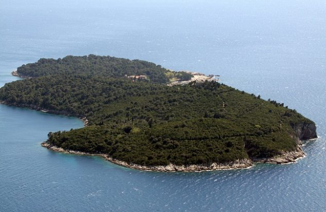 The curse of Lokrum Island