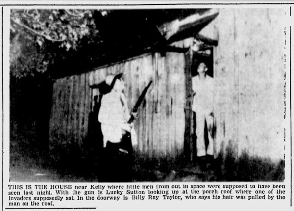 Siege of 'Little Green Men' The 1955 Kelly, Kentucky, Incident