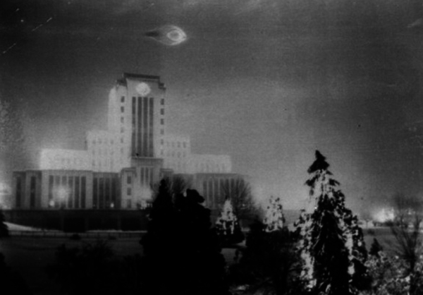 Early UFO photo – The Vancouver City Hall UFO – 1937