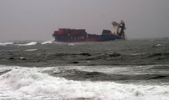 A huge number of ships are disappearing in Asian waters patch