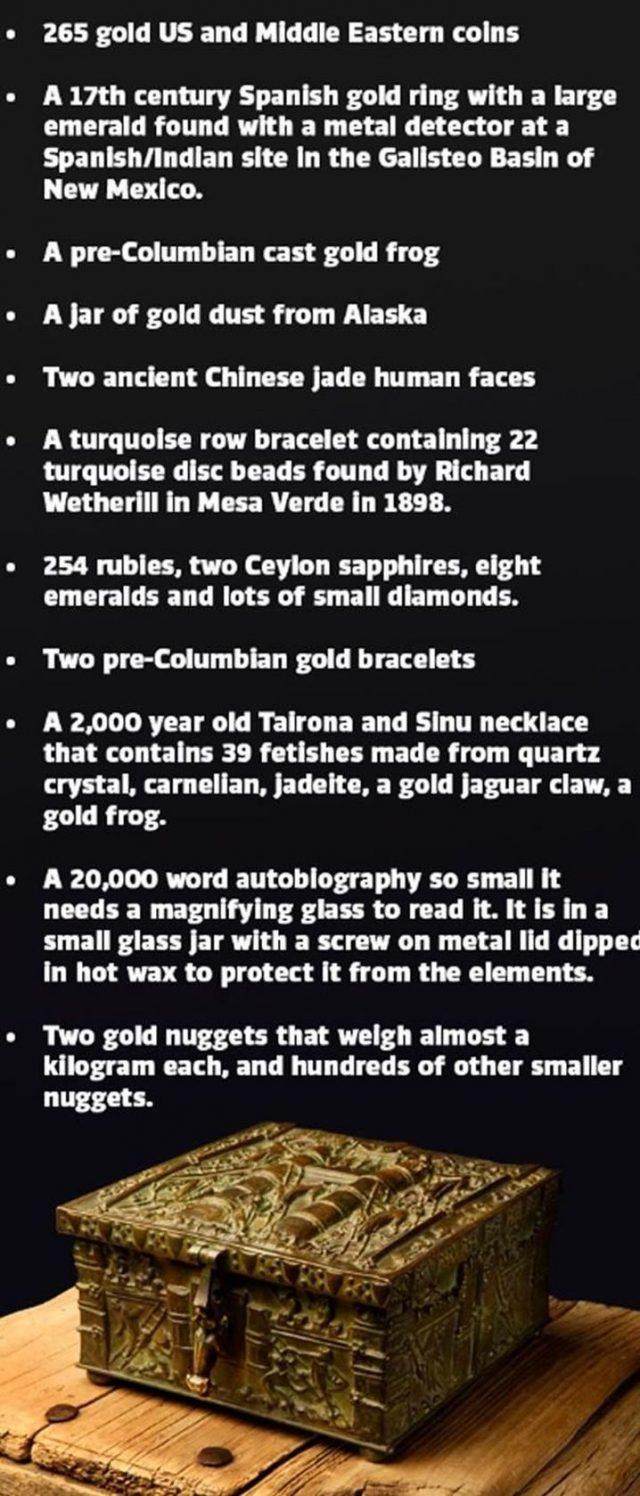 The mystery of the Forrest Fenn Hidden treasure – Strange