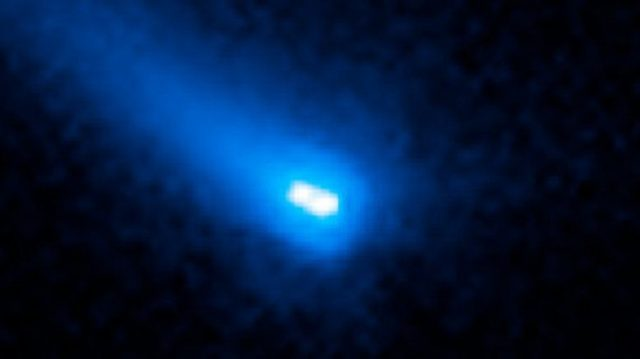 Hubble spots something very, very strange hurtling through our solar system!
