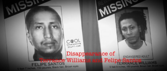 The Mysterious Disappearance of Terrance Williams and Felipe Santos