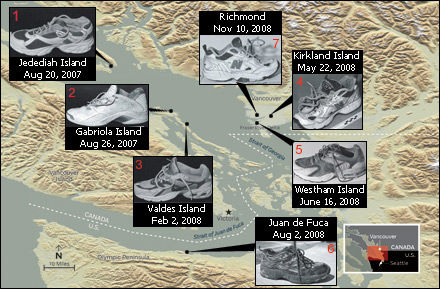The strange Salish Sea Foot Mystery