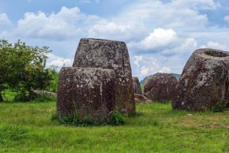 The strange ancient mystery of the Plain of Jars, Laos